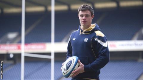 Scotland and Edinburgh winger Lee Jones