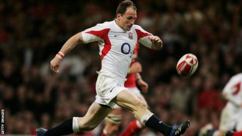 Former England international Mike Catt