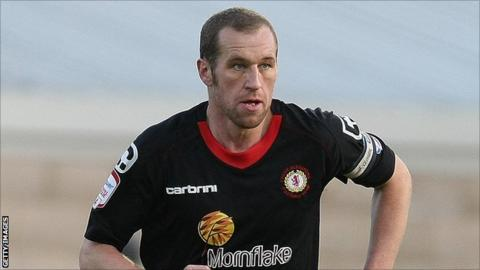 Crewe Alexandra captain David Artell