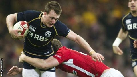 Scotland full-back Stuart Hogg
