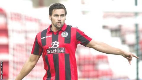 St Mirren defender Darren McGregor