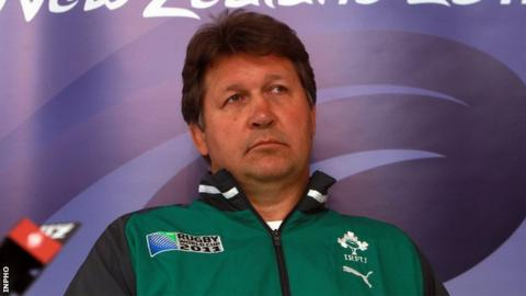 Ireland forwards coach Gert Smal
