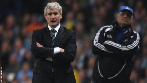 Mark Hughes and Martin Jol will face each other on Saturday