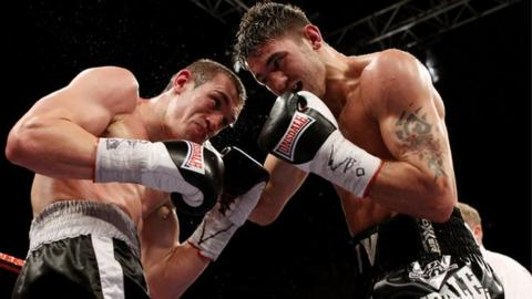 Tommy Karpency and Nathan Cleverly