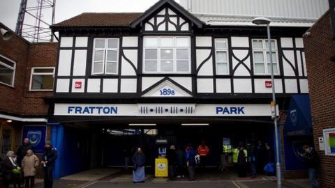 Portsmouth's Fratton Park ground