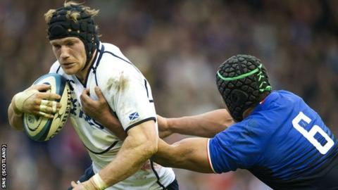 Scotland flanker Ross Rennie was man-of-the-match against France