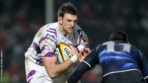 Nikki Walker has made 103 appearances for the Ospreys