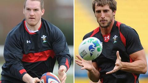 Gethin Jenkins and Luke Charteris are part of the Welsh exodus to France