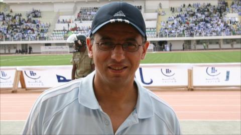 Former Burundi coach Adel Amrouche