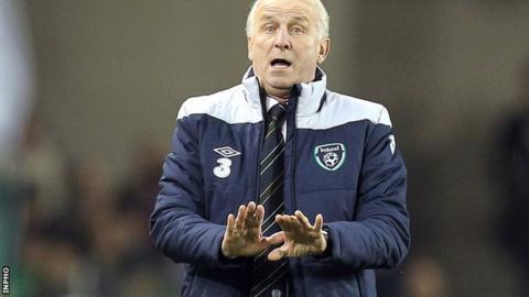 Republic of Ireland manager Giovanni Trapattoni