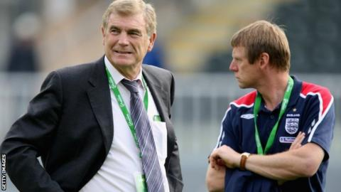 Sir Trevor Brooking and Stuart Pearce