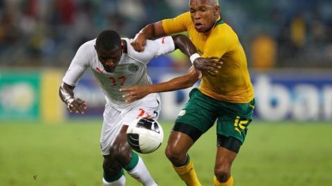 South Africa v Senegal 2012