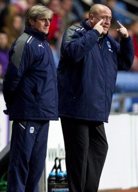 Steve Harrison (left) and Andy Thorn