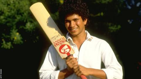 Sachin Tendulkar at 16