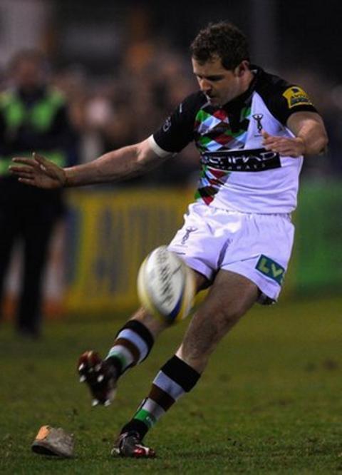 Nick Evans penalty