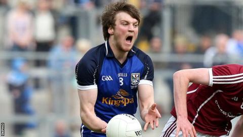 Gearoid McKiernan impressed for Cavan at Breffni Park