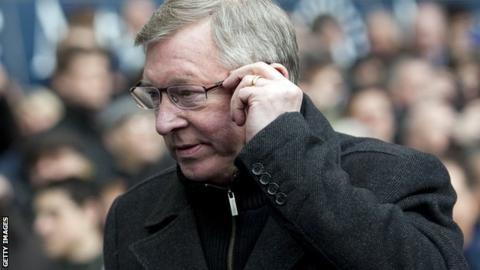 Sir Alex Ferguson believes Manchester United are well placed to win the title