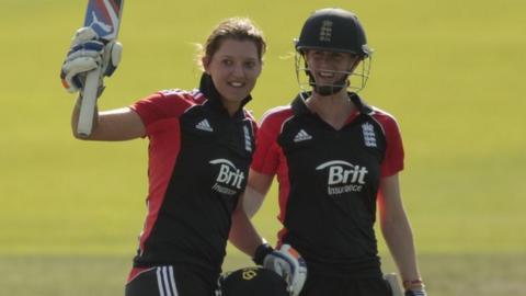Sarah Taylor and Lydia Greenway