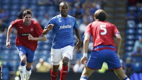 Portsmouth v Rangers