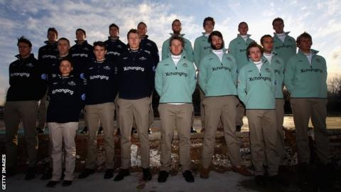The Boat Race squads