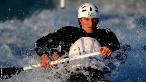 Scottish canoeist David Florence