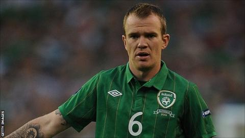 Stoke City midfielder Glenn Whelan