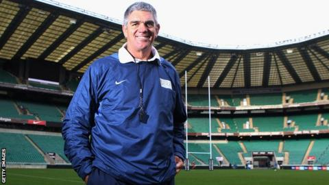 Nick Mallett at Twickenham during the Help For Heroes Rugby Challenge last December
