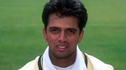 Rahul Dravid in 1996