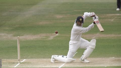 Rahul Dravid on his debut at Lord's in 1996
