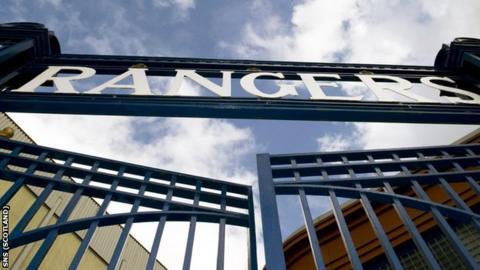 Ibrox gates