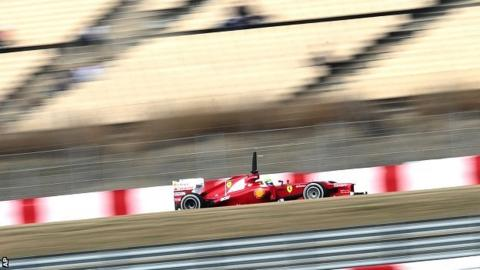 Felipe Massa at Barcelona