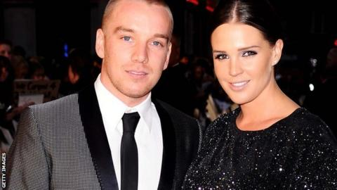 Jamie O'Hara and Danielle Lloyd