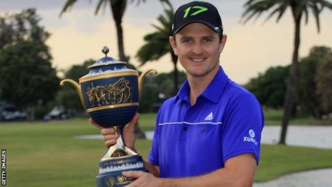 Justin Rose in Florida