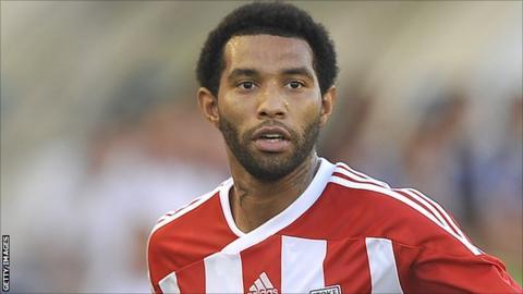 Stoke City winger Jermaine Pennant