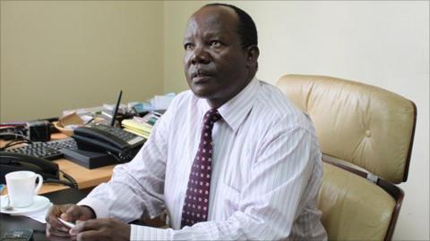 Football Kenya Federation chairman Sam Nyamweya