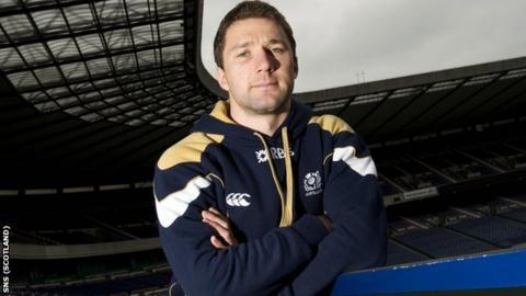 Scotland scrum-half Chris Cusiter