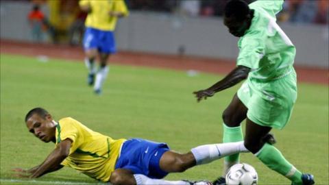 The teams last met in Abuja in 2003, when Brazil won 3-0 in a friendly