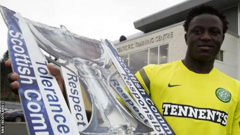 Wanyama is looking for his first trophy