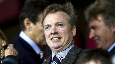 Rangers owner Craig Whyte