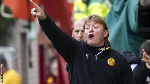 McCall was unhappy at a decision in the lead-up to Aberdeen's opening goal