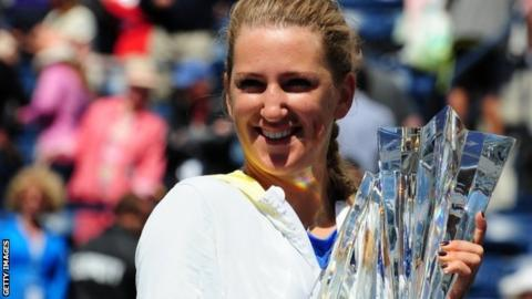 Victoria Azarenka wins the Indian Wells title