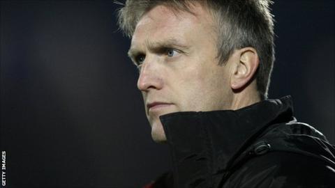 Crewe Alexandra manager Steve Davis