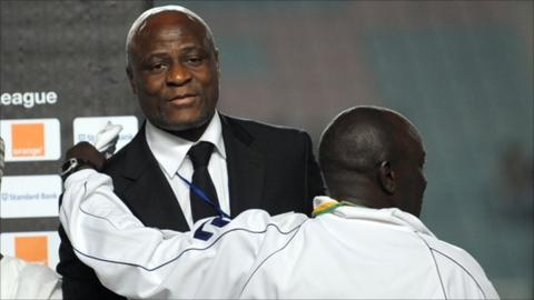 Constant Omari Selemani, president of the Democratic Republic of Congo's FA