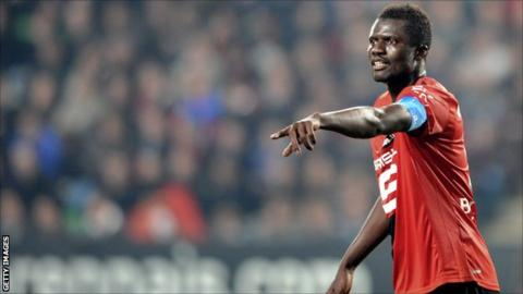 Senegal and Rennes defender Kader Mangane