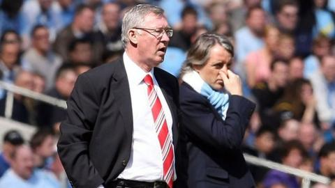Sir Alex Ferguson & Roberto Mancini
