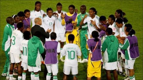 Nigeria's women's football squad