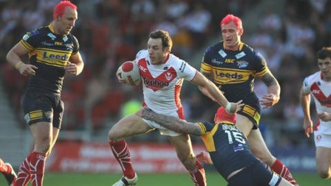 James Roby was in imperious form on his return to St Helens