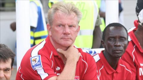 Former Gambia coach Put handed reins at Burkina Faso - BBC Sport
