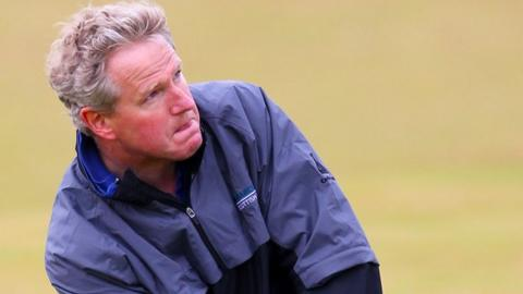Golf show presenter Graham Spiers