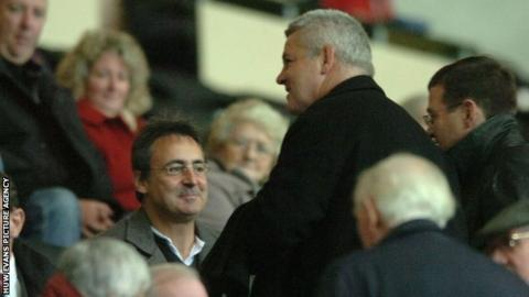 Nigel Davies and Warren Gatland
